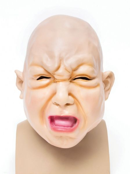 Ugly Halloween Baby Fat Face Mask Trick Or Treat Fancy Dress